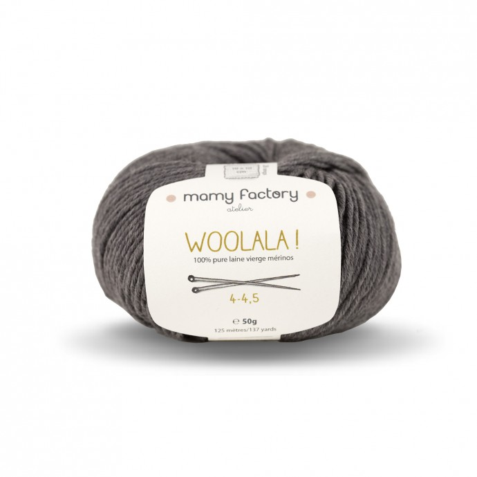 Woolala! Mouse Grey