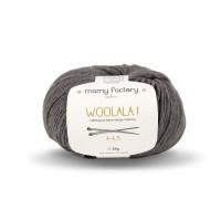 Laine naturelle Woolala - Mamy Factory - Gris souris