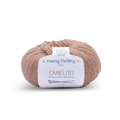 Laine naturelle Camelito - Mamy Factory - Caramel