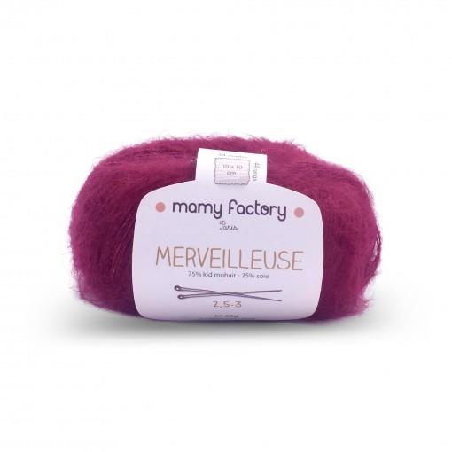 Laine naturelle Merveilleuse - Mamy Factory - Bordeaux