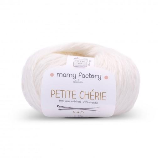 Laine naturelle Petite chérie - Mamy Factory - Ecru
