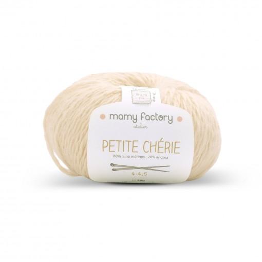 Laine naturelle Petite chérie - Mamy Factory - Beige