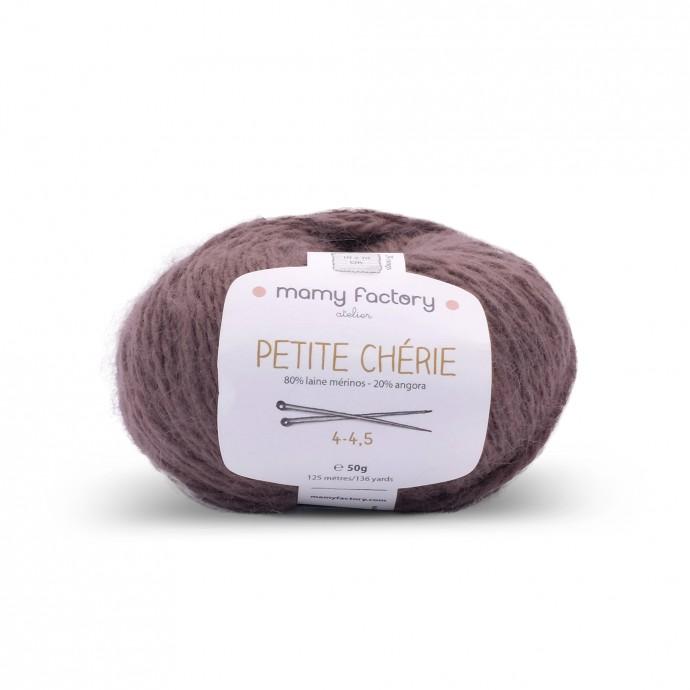 Laine naturelle Petite chérie - Mamy Factory - Vison