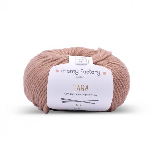 Laine naturelle Tara - Mamy Factory - Camel