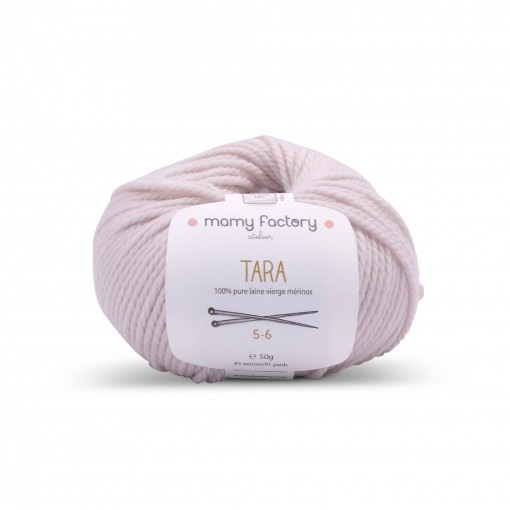 Laine naturelle Tara - Mamy Factory - Sable