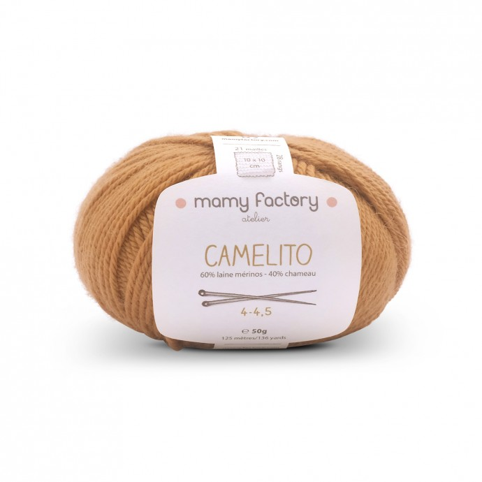 Laine naturelle Camelito - Mamy Factory - Camel