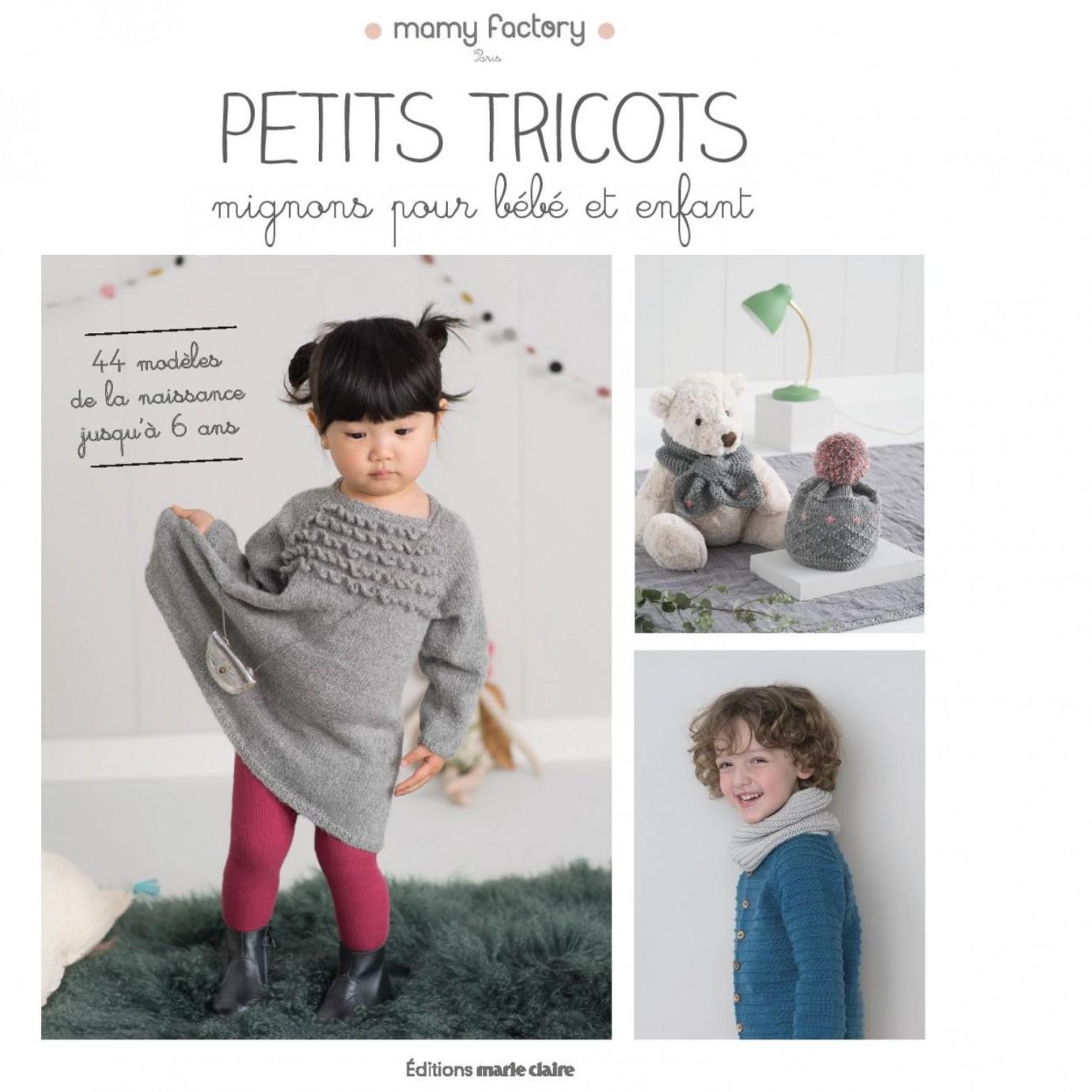 Livre De Tricot Pour Bebe Et Enfants 44 Modeles Patrons