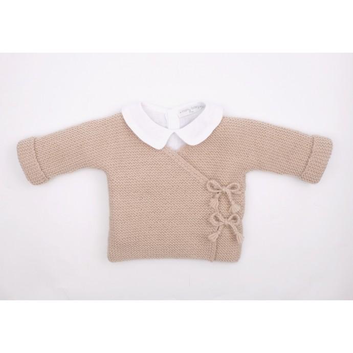 Brassiere Marceline avec chemise en lin lavé Mamy Factory