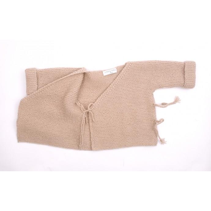 Marceline cardigan beige opened