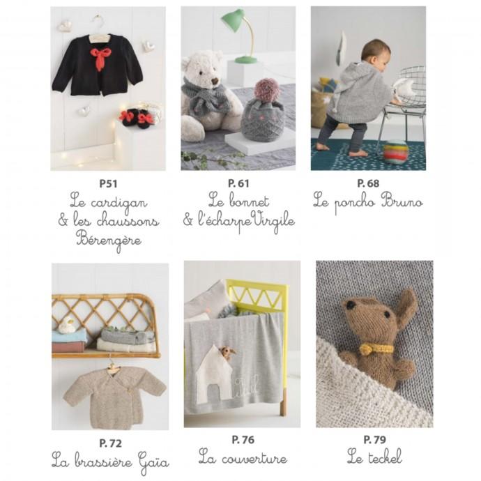 Livre Tricots enfants Mamy Factory
