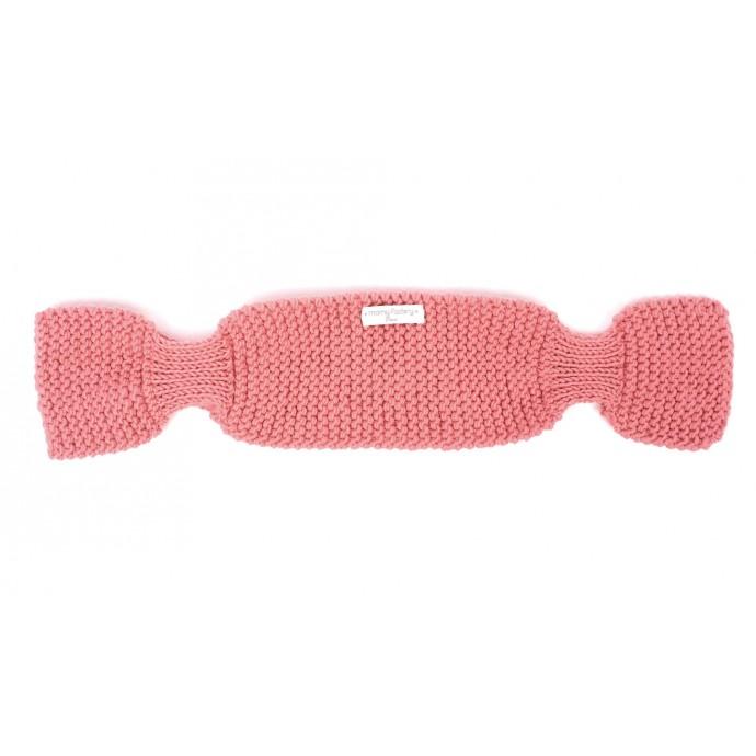 Echarpe Léontine pour bébé - coloris rose candy - A plat