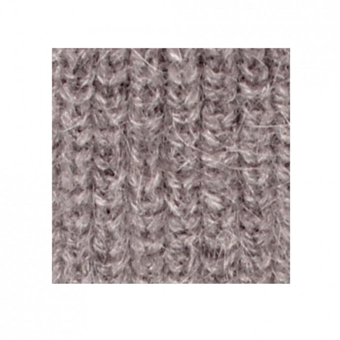 Bonnet Fernand pour enfant - coloris gris et rose - detail