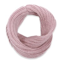 Light purple snood scarf for kids made from wool and alpaca