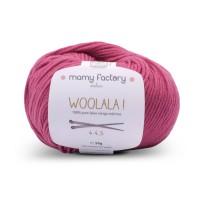 Laine naturelle Woolala - Mamy Factory - Framboise