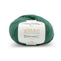 Laine naturelle Woolala - Mamy Factory - Vert