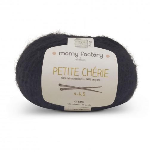 Laine naturelle Petite chérie - Mamy Factory - Reglisse