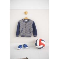 Modele tricot PDF - Blouson John