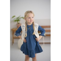 Modele tricot PDF - Gilet Jade