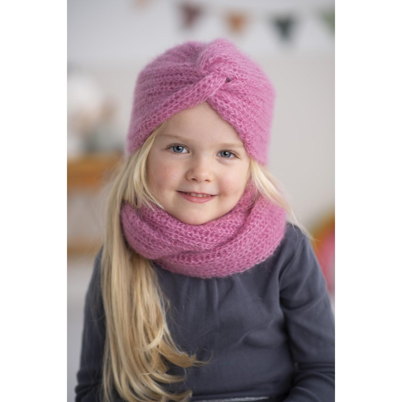 Modele pdf snood amelie au tricot pour enfants