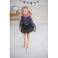 Modele tricot PDF - Snood Amelie