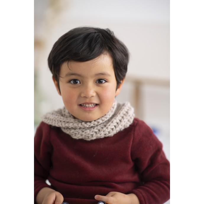 Modele tricot PDF - Snood Edwin