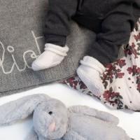 Modele tricot PDF - Bonnet et Chaussons Eliott