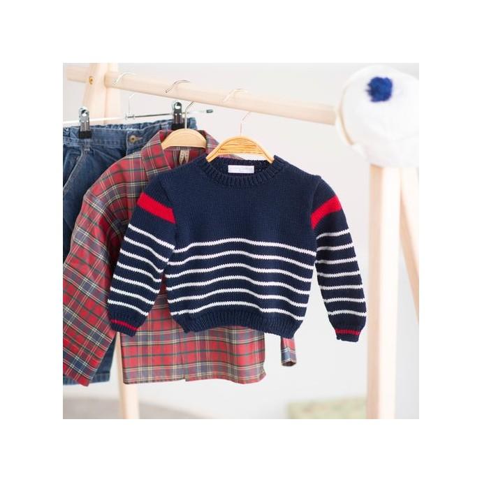 Modele tricot PDF - Mariniere Raphael
