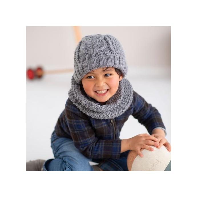 Modele tricot PDF - Bonnet Lucas