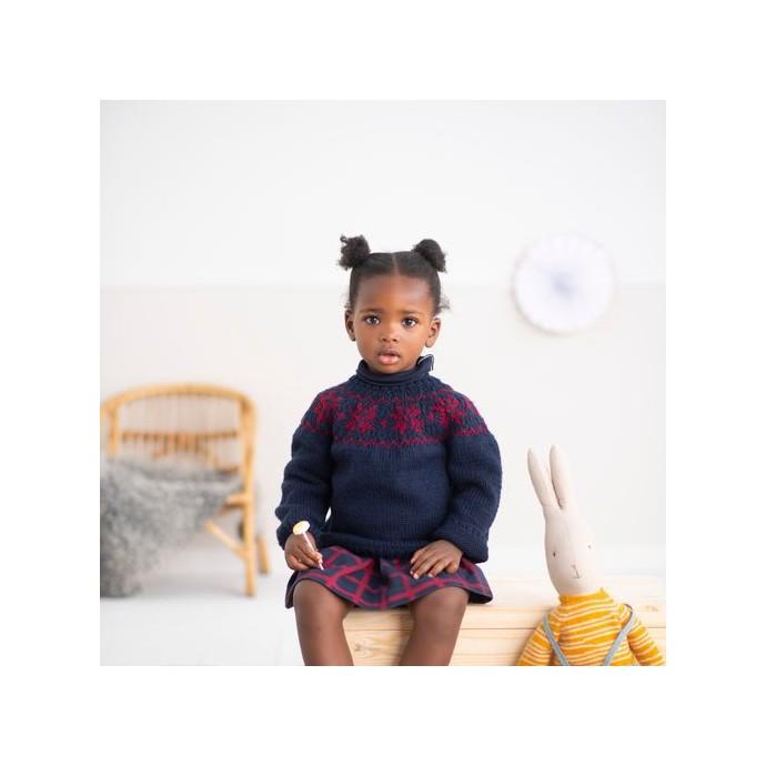 Modele tricot PDF - Pull Ambre