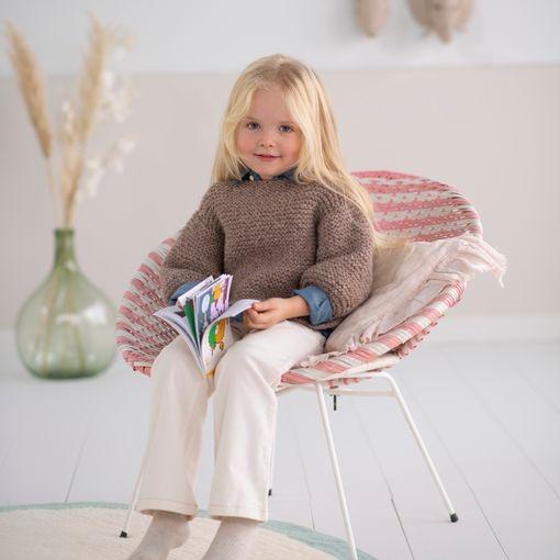 Modele tricot PDF - Pull Leo