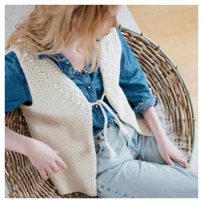 Knitting Pattern - Marcel Gilet