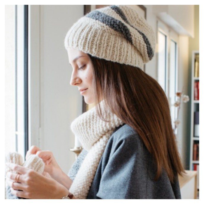 Knitting Pattern - Romeo Beanie