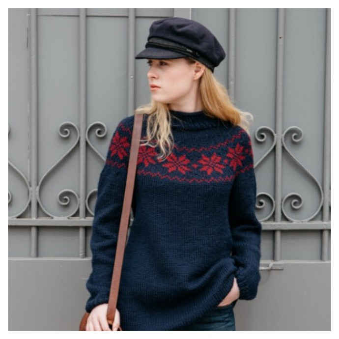 Knitting Pattern - Teddy Jumper