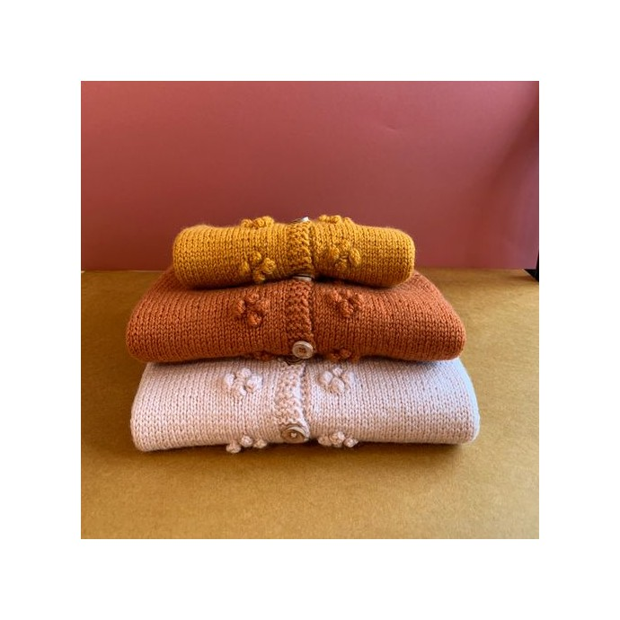 Kit tricot - Gilet Josephine