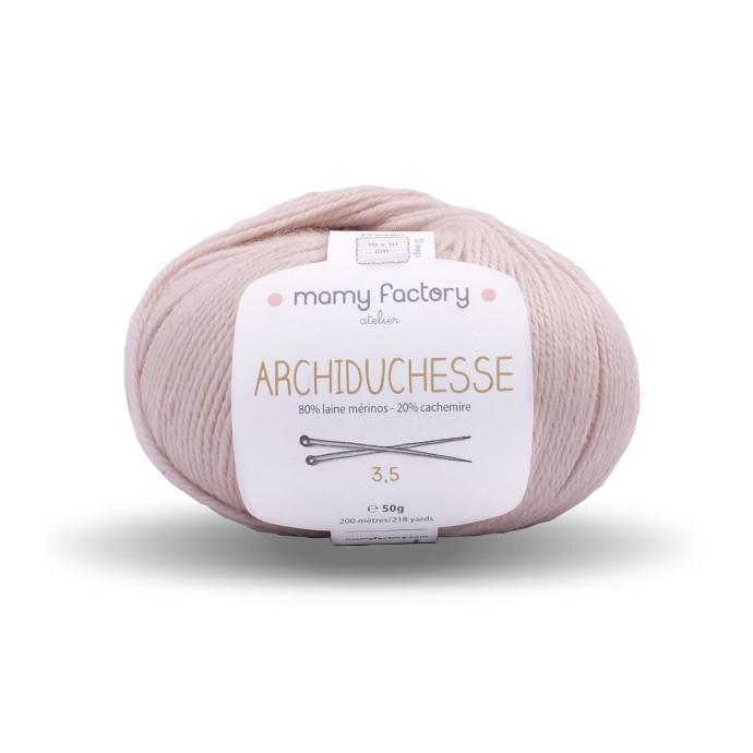 Laine naturelle Archiduchesse - Mamy Factory - Beige