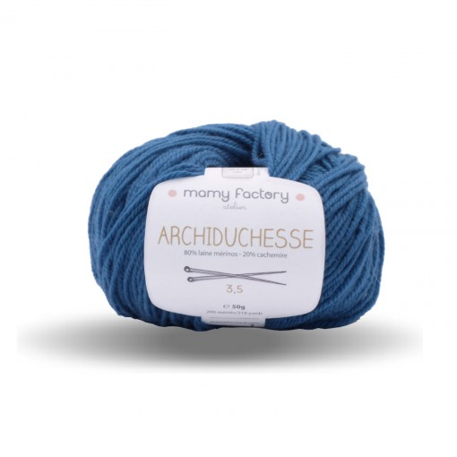 Yarn archiduchesse Duck blue