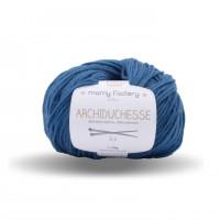 Yarn archiduchesse Duck blue