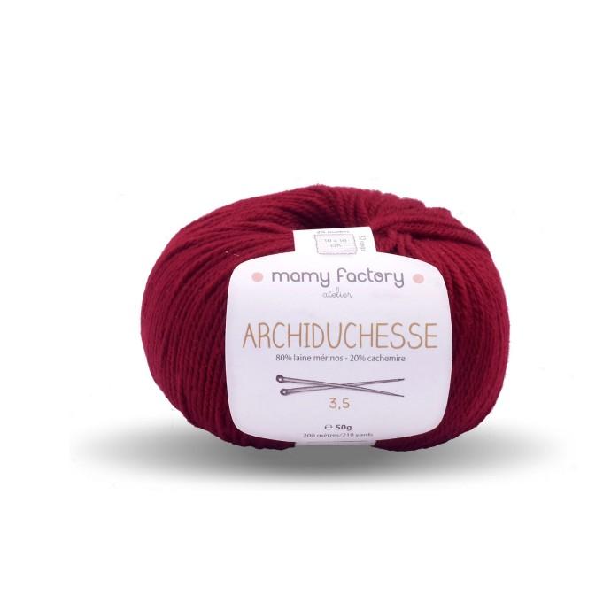 Laine naturelle Archiduchesse - Mamy Factory - Bordeaux