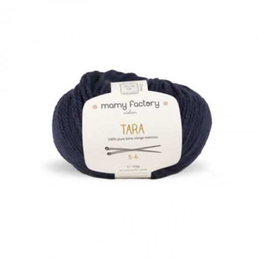 Laine naturelle Tara - Mamy Factory - Encre