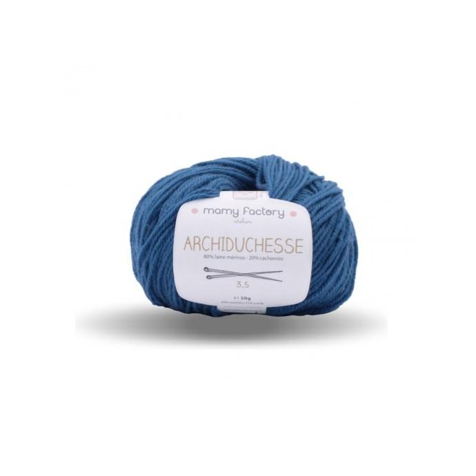 Laine naturelle Archiduchesse - Mamy Factory