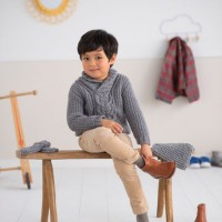 Modele tricot PDF - Pull Lucas