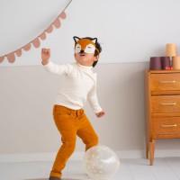 Modele tricot PDF - Masque Renard