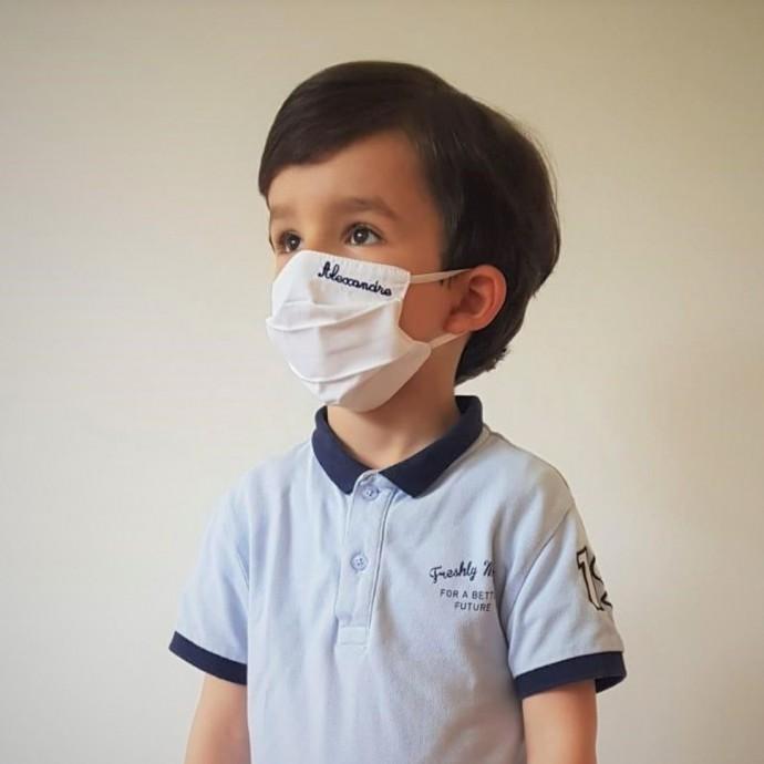 Masque Barriere personnalisable pour enfants