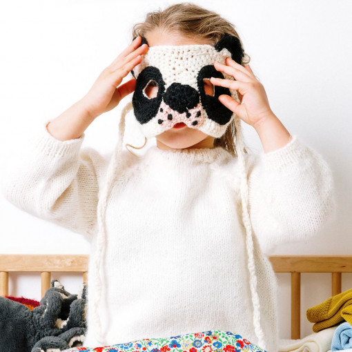 PDF Pattern in French- Koala mask
