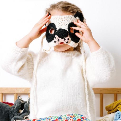 Modele tricot PDF - Masque Koala