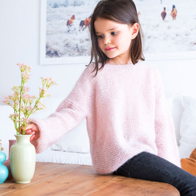 Knitting Pattern -  Mini Mila Jumper