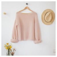 Patron tricot PDF - Pull Mila