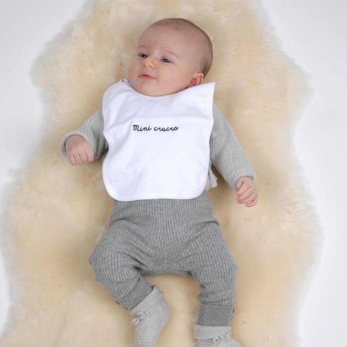 """""""Mini Cracra""""  Baby Bib"""